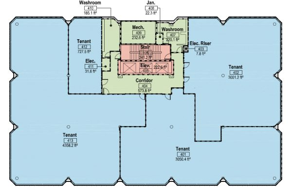 4th Floor - (All)