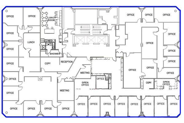 4th Floor - Highlighted